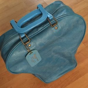 Vintage bowling travel bag